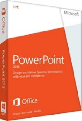 PowerPoint 2013 32-bit/x64 English EM DVD Non-Commercial